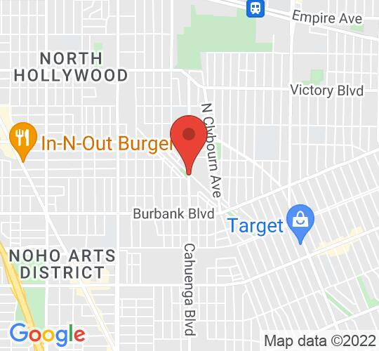 Google map static shot of THE ARK THEATRE COMPANY, United States, 91601