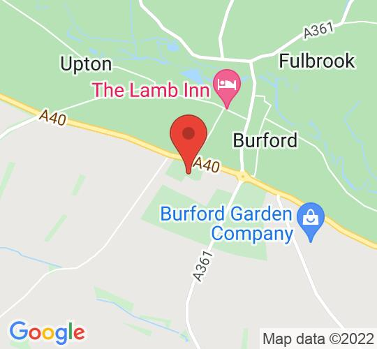 Google map static shot of Burford School, BURFORD, OX18 4PL